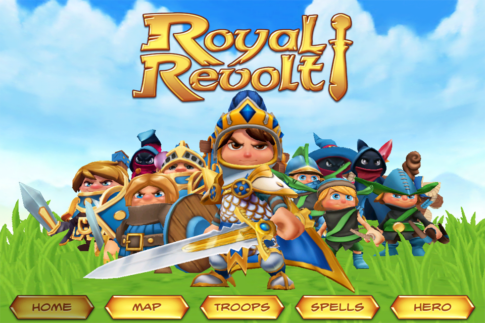 Royal Revolt! iPhone